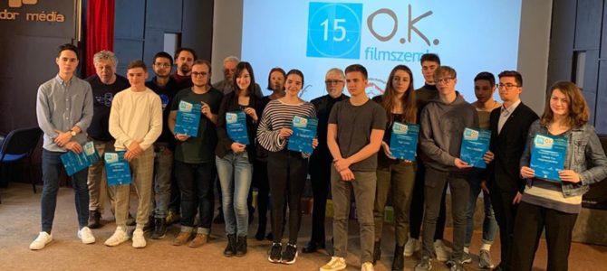 """Első díjat nyert """"A valami"""" a Középiskolai Filmszemlén"""